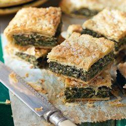 My Nana made this for us quite often, it was delicious....Ricetta: L'erbazzone - SoloFornelli.it - Ricette di cucina facili e veloci