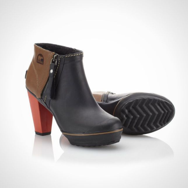 These waterproof ankle boots are too cool.