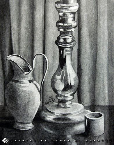 still life - Pencil drawing   i draw it in ARTD 101 Drawing …   Flickr