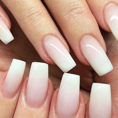 natural acrylic nails tumblr - Google Search