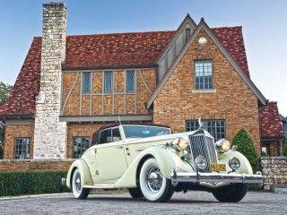 Packard Twelve Coupe Roadster – 1936