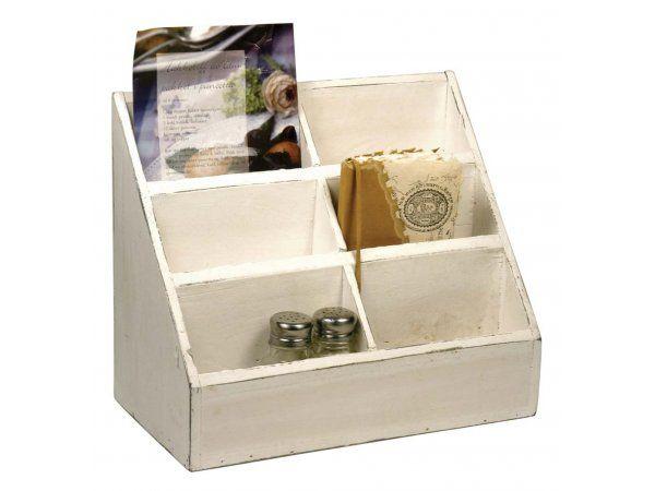 Pudełko Białe z 6 Przegródkami Ib Laursen 5253-11