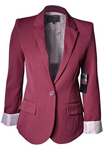 - Size Type: Junior/Young Contemporary - Special Style: For a crisp look that straddles the line between professional and casual, A cute option as a suit jacket, this boyfriend blazer features a parti