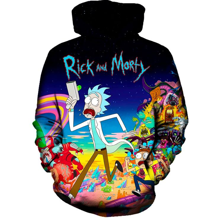 Our rick and morty run hoodie will make you fall in love with this awesome cartoon all over again. This hoodie will be like glue and you will never want to take it off. Wear our rave clothing and wait