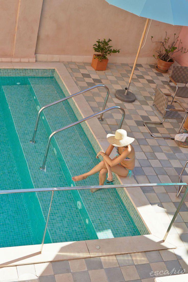 Pool des Hotel Palau Sa Font auf Mallorca. Palma de Mallorca, Spanien