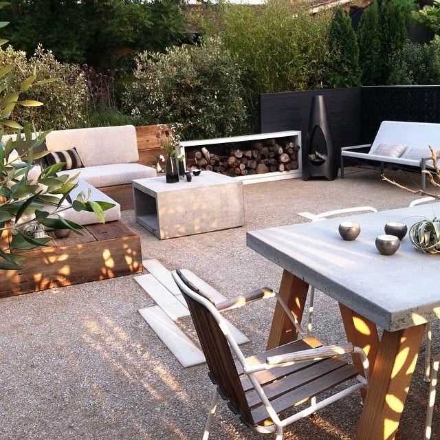 A Celebration Of Concrete: Best 25+ Concrete Outdoor Table Ideas On Pinterest