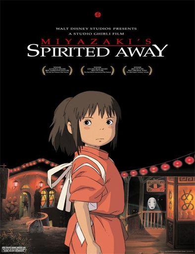 Poster de Sen to Chihiro no kamikakushi (El viaje de Chihiro)