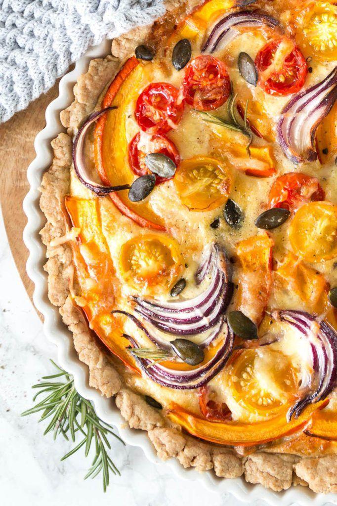 Herbstliche Quiche Mit Kurbis Foodporn Pinterest Food Tasty