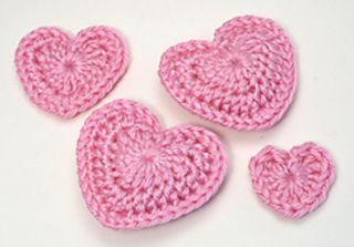 Love Hearts ~ free pattern ᛡ