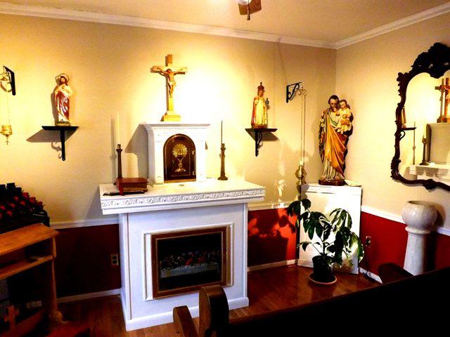 Home Chapel Prayer Room Ideas Pinterest Best Prayer