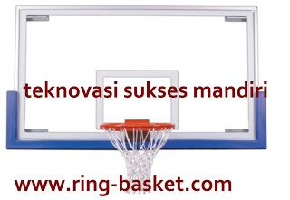 Jual Ring Basket , Tiang Basket Portabel  dan Papan Pantul Basket: Papan Pantul Basket Tempered Glass