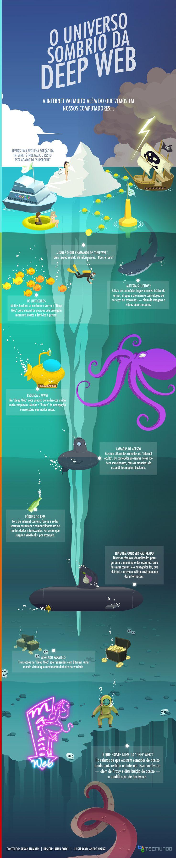 Deep Web, Infográfico - Blog do Robson dos Anjos