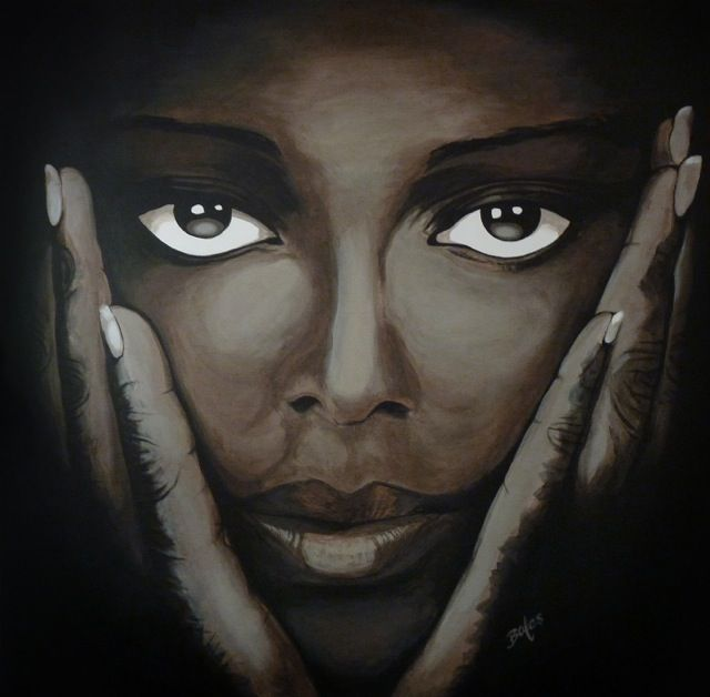 Bien connu 105 best Art FEMME AFRICAINE images on Pinterest | Painting  HB24