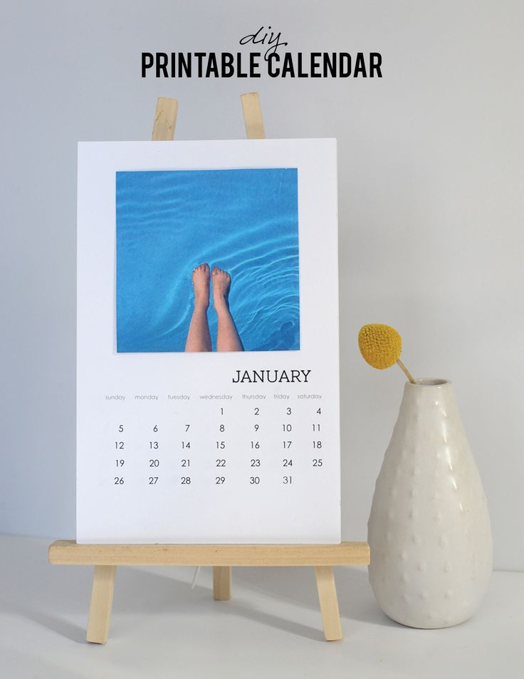 DIY Printable Calendar - Alice and Lois