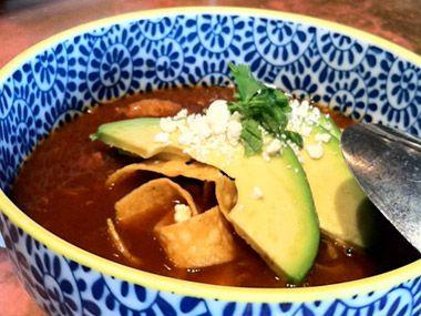 Aztec Chicken Soup Recipe - Tacolicious Restaurant | San Francisco - DailyCandy