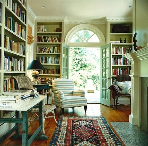 Library in the Hamptons