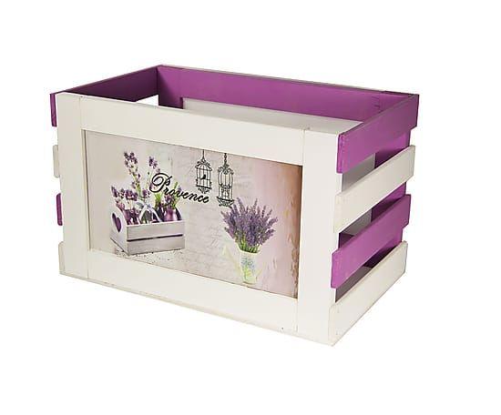 Ящик для хранения вещей и игрушек - сосна - Д38хШ23хВ23,5 см