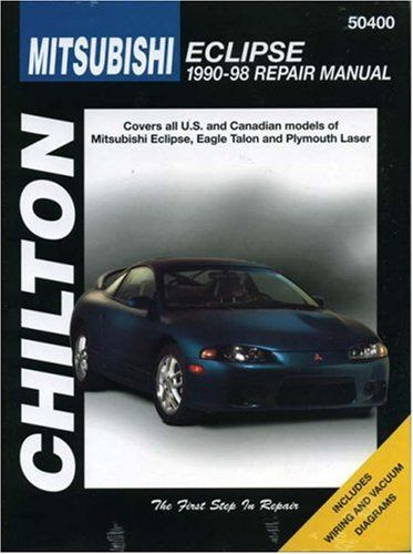 Mitsubishi Eclipse, 1990-98 (CHILTON Repair Manuals) - http://musclecarheaven.net/?product=mitsubishi-eclipse-1990-98-chilton-repair-manuals