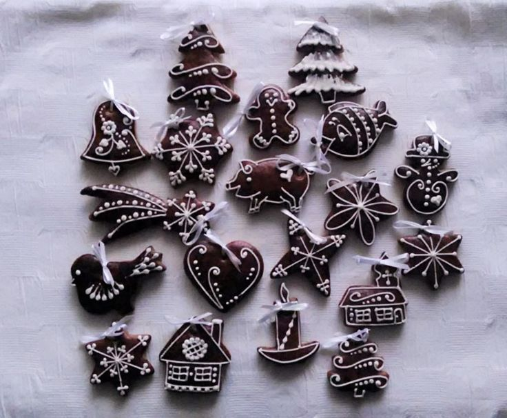 Vánoční perníková kolekce 50 kusů | Zobrazit plnou velikost fotografie