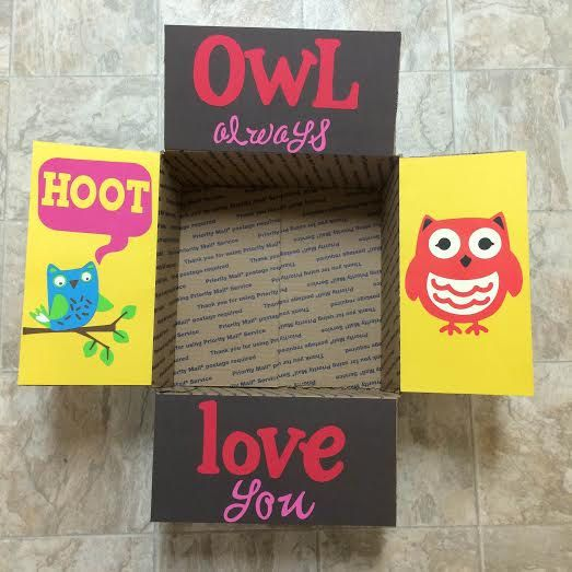 Owl Always Love You Care Package Flaps by LoveFromHomePackages
