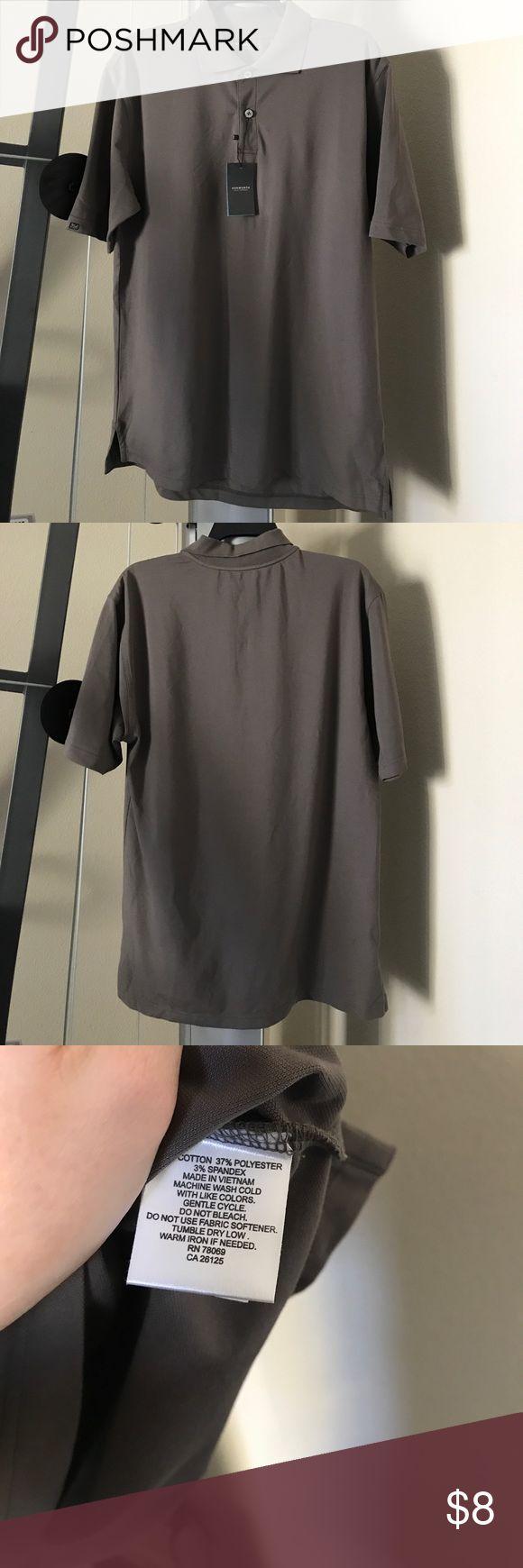Ashworth Polo Size small. Ashworth-golf company. Color:Gray. Brand New Ashworth Shirts Polos