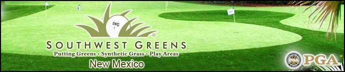 Our Albuquerque putting greens and New Mexico putting greens are the finest custom design artificial grass backyard golf greens and indoor golf greens in the industry.