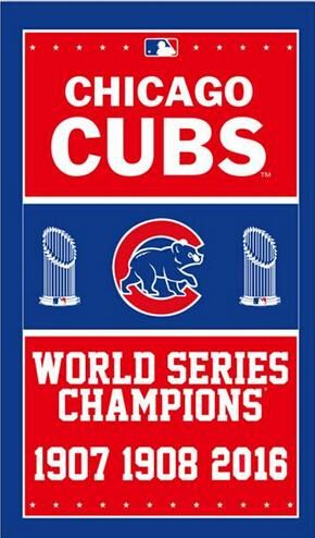 Chicago Cubs World Series Champion 1907 1908 2016 Baseball Team Sports Products Flag Flag Banner 90*150CM