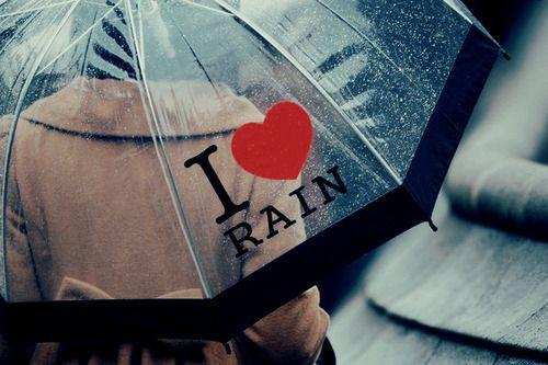 rainy days are my favorite :)