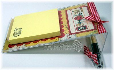 Post It Note Holders 4X6 | ... but if you lay them down, they make the perfect Post-it Note holders