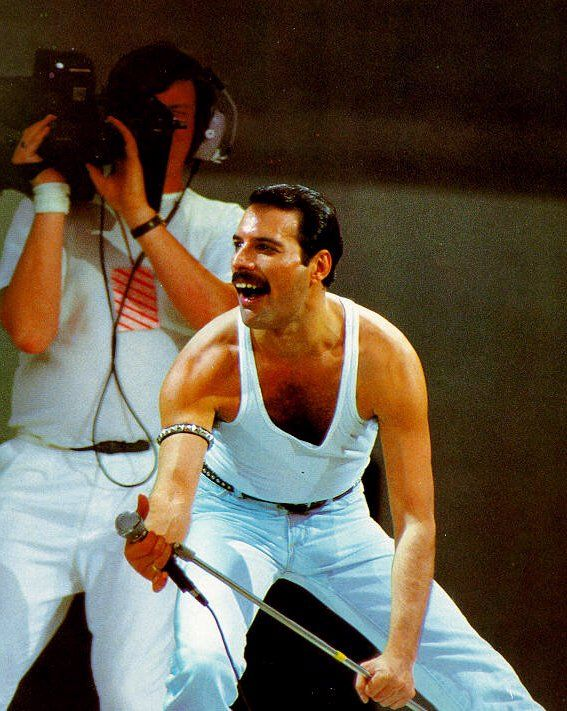 Live Aid 1985. The day Queen and Freddie Mercury in particular, stole the show.