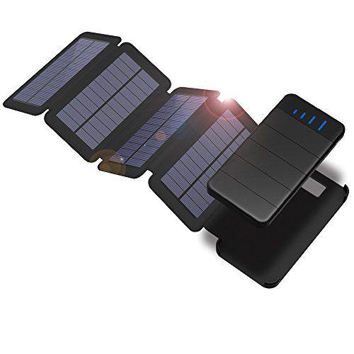Solar Powerbank X-DRAGON 10000mAh Abnehmbare Solar Ladegerät mit 4 Solar Panels Outdoor Wasserdichte Faltbare Handy Externer Akku mit LED-Licht für iPhone, iPad, Samsung, Huawei, Tablet, weitere Smartphone #Solar #Powerbank #DRAGON #Abnehmbare #Ladegerät #Panels #Outdoor #Wasserdichte #Faltbare #Handy #Externer #Akku #Licht #für #iPhone, #iPad, #Samsung, #Huawei, #Tablet, #weitere #Smartphone