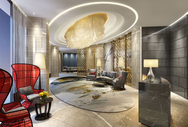 Penthouse Hotel Angeles City, Philipines - Design by Studio HBA