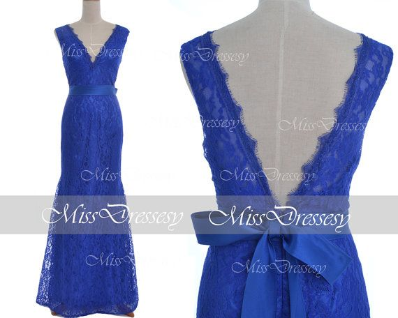 Royal Blue Casual Dresses