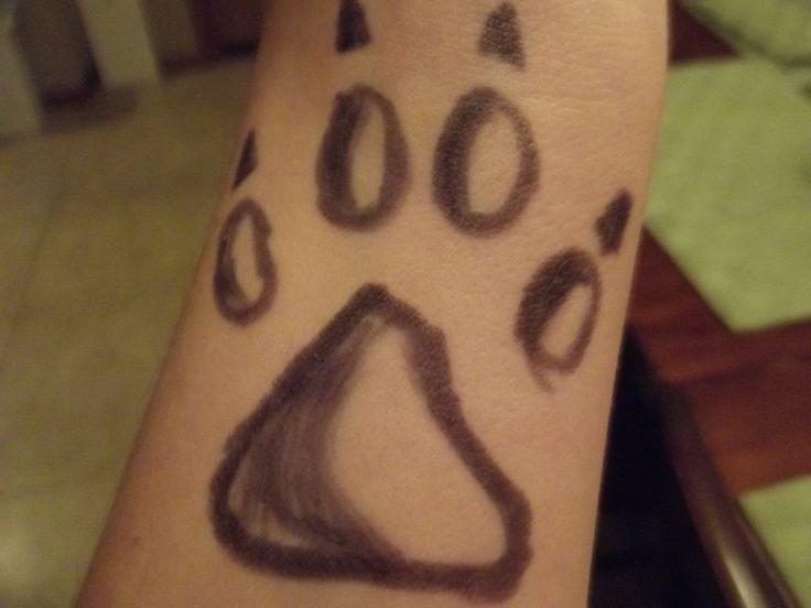 Wolf Paw Tattoo By GwendyFox On DeviantArt