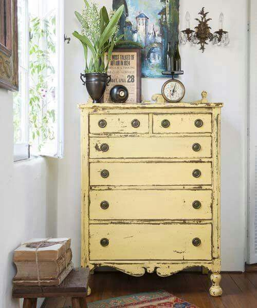 723 Best Images About Yellow Painted Furniture On