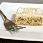 Банановый торт с глазурью из сливочного сыра — быстрый и простой рецепт