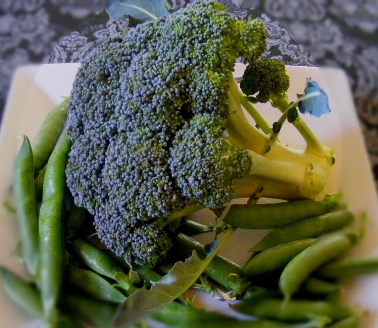 Happy pesticide free broccoli