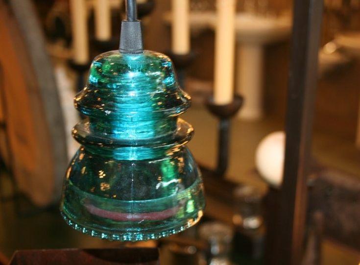 Antique Glass Repurposed!