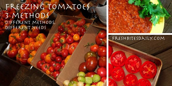 how to make freezer tomato sauce from fresh tomatoes