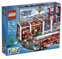 Lego 7208 - Fire Station (2010)