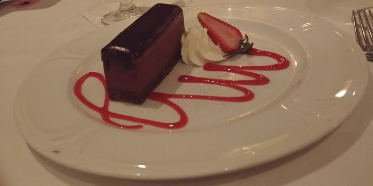 Yummy & Delicious Chocolate Mousse Cake @ The Copper Room At Harrison Hot Springs Of 2018! Wednesday March 21st,2018!☺❤
