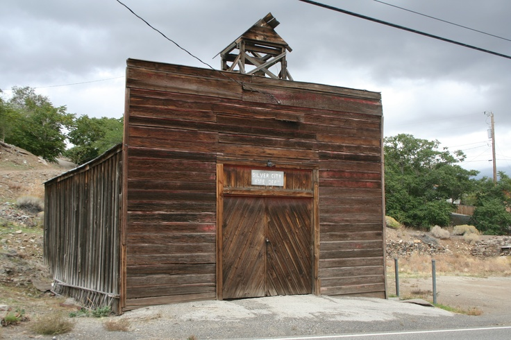 Old Fire Station near Virginia City, NV My Style