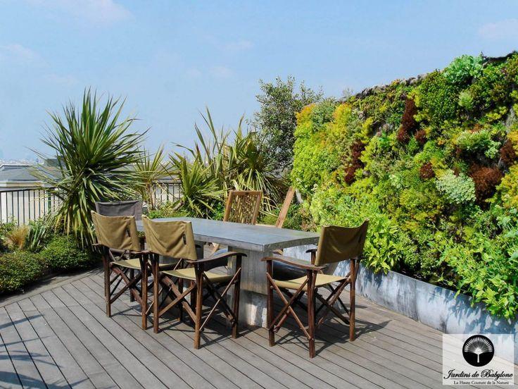 Les 25 meilleures id es de la cat gorie jardins sur le for Terrasse sur le toit paris