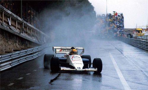 Ayrton Senna | Toleman TG184 | 1984 Monaco Grand Prix