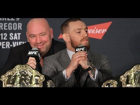 MMA Dana White and ConorMcGregor Continue to Battle Over Dual Belts