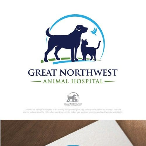 Great Northwest Animal Hospital - Veterinary Hospital needs modern professional logo We are a small animal veterinary hospital located in south central Texas. We focus on high quality, cutting edge medi...