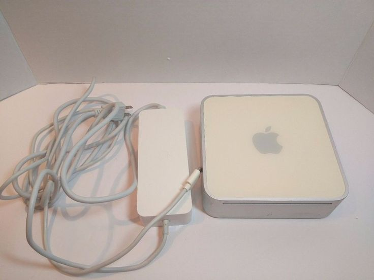 2005 Apple Mac Mini A1103 1.25GHz Power PC G4 Tested & Working  ~  #Apple
