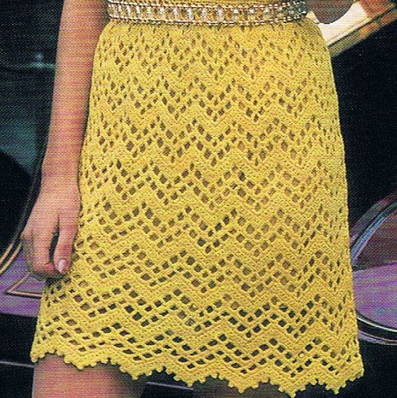 Instant Download Fantastic Crochet pattern from the late 1960s early 1970s. PDF pattern to print at home. Can be completed in 4 sizes from