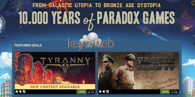 Steam, grandi sconti sul catalogo Paradox Interactive  #follower #daynews - https://www.keyforweb.it/steam-grandi-sconti-sul-catalogo-paradox-interactive/