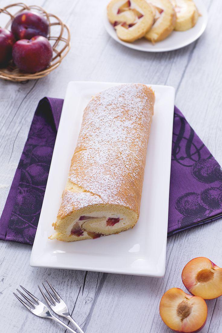 Un #dessert che almeno una volta si deve preparare è il #rotolo alle #prugne: semplice ma d'effetto! #ricetta #Giallozafferano #recipe #sweetroll #roll